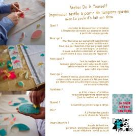 Atelier 30 juin18-impression textile